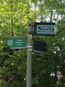 Footpaths galore
